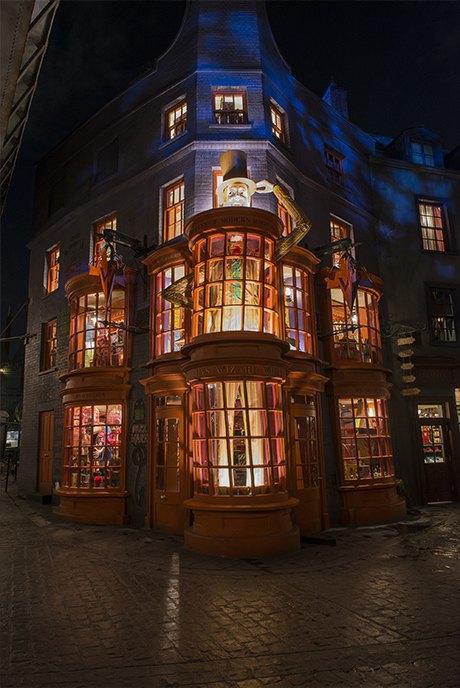 Как будет выглядеть парк аттракционов вселенной «Гарри Поттера». Изображение № 4.