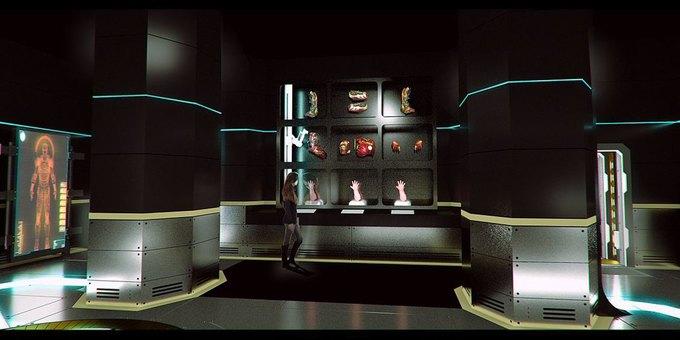 Опубликованы концепт-арты выставки по вселенной «Мстителей» . Изображение № 2.