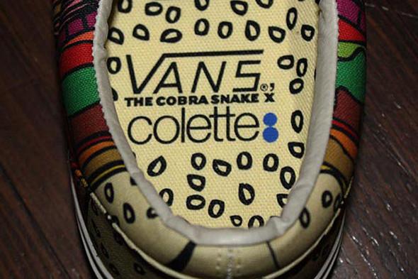 COBRA SNAKE X COLETTE X VANS ERA. Изображение № 4.