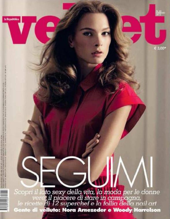 Обложки: Джастин Бибер для V и Ирина Куликова для Velvet. Изображение № 2.