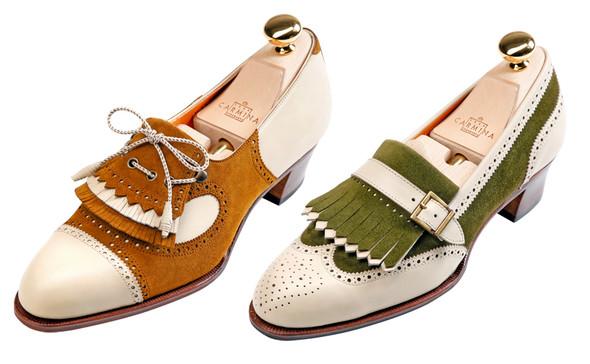 Классическая обувь для женщин: оксфорды, броги, лоуферы. Изображение № 5.