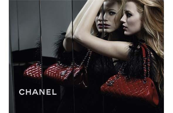 Изображение 1. Блейк Лайвли и Кира Найтли в новых кампаниях Chanel.. Изображение № 1.