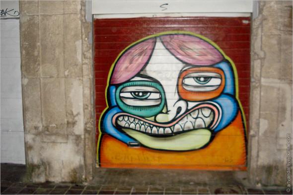 Стрит-арт и граффити Валенсии, Испания. Изображение № 9.