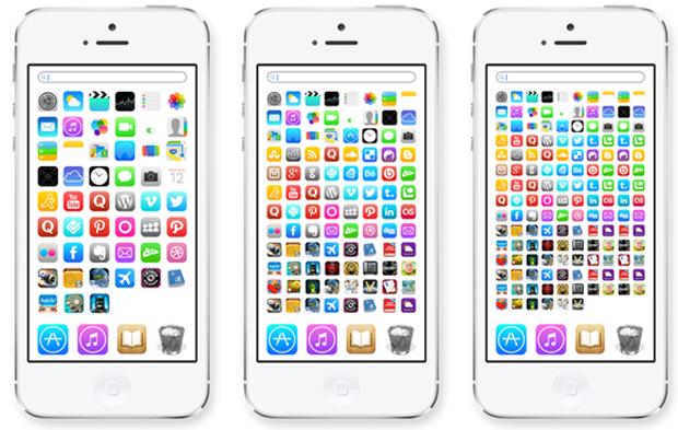Концепт iOS 8, который понравился бы Стиву Джобсу. Изображение № 1.
