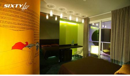 Отель-магазин синдивидуальной отделкой каждого номера. Изображение № 17.