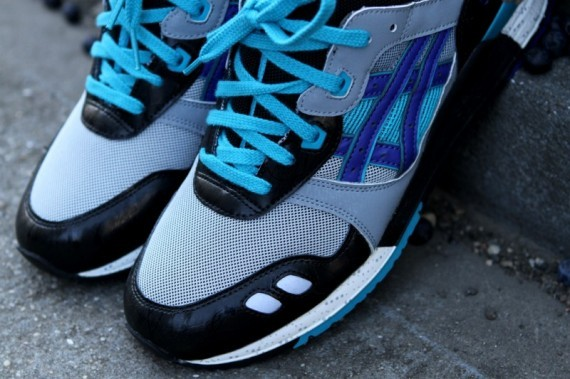 Asics Gel Lyte III Blueberry 2012 Re-Release. Изображение № 6.