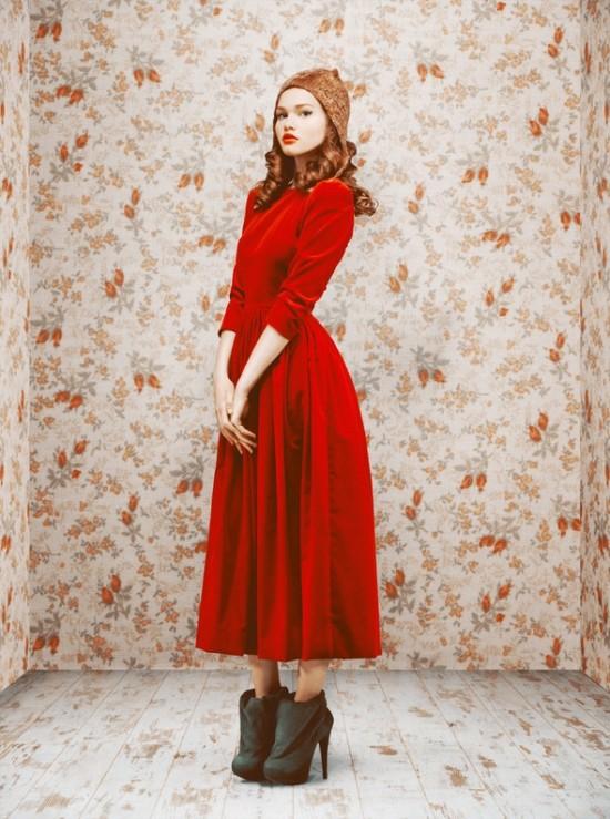 Коллекция осень-зима 2011/12 от Ульяны Сергиенко. Изображение №30.