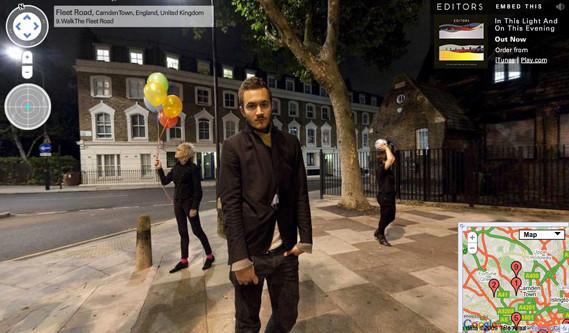 Editors показали свои луки наGoogle Street View. Изображение № 2.