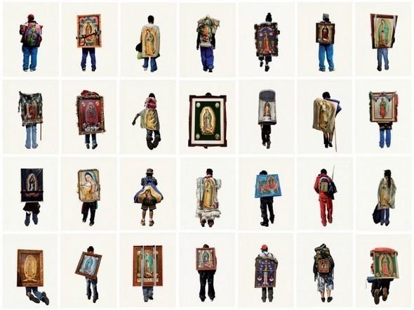 Изображение 3. Арт-портреты мексиканских паломников.. Изображение № 3.