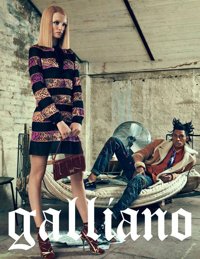 Вышли кампании Dior, Prada, Louis Vuitton и других марок. Изображение № 21.