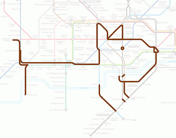 Осторожно! Звери в лондонском метро!. Изображение № 9.
