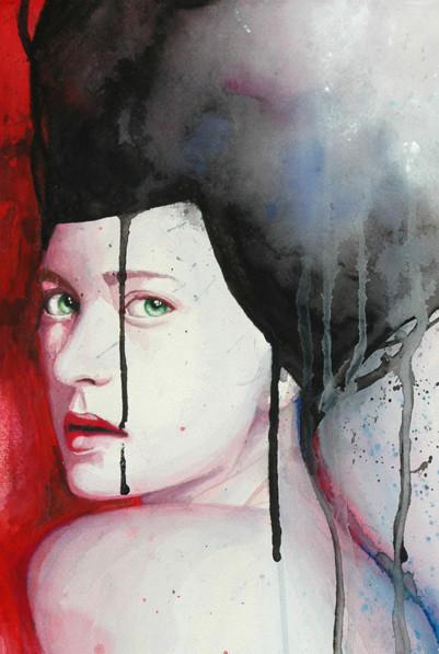 Акварельные портреты Молли Брилл. Изображение № 10.