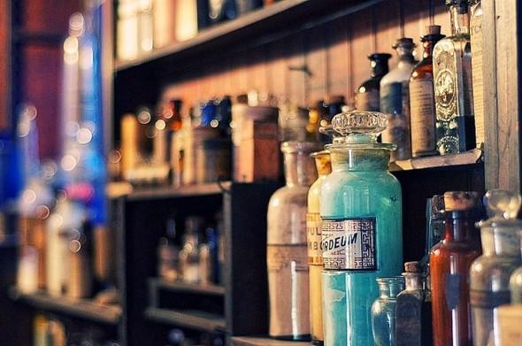Аптека - музей в Новом Орлеане. Изображение № 4.