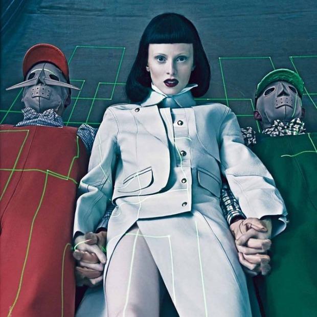 Новые съемки Dazed & Confused, Vogue, i-D и W Magazine. Изображение № 44.
