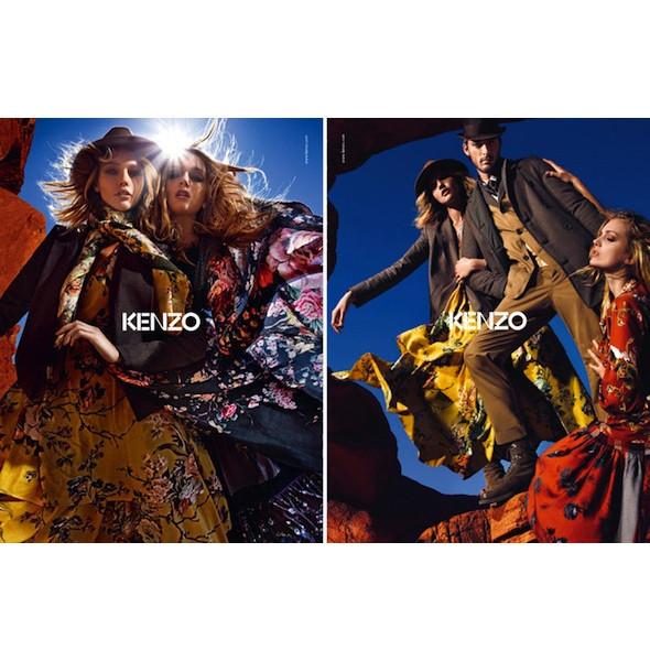 3 новые рекламные кампании: Burberry, Etam и Kenzo. Изображение № 15.