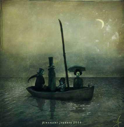 Мистический мир. Alexander Jansson. Изображение № 35.