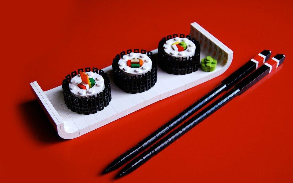 Как выглядит еда, сделанная из LEGO. Изображение № 6.