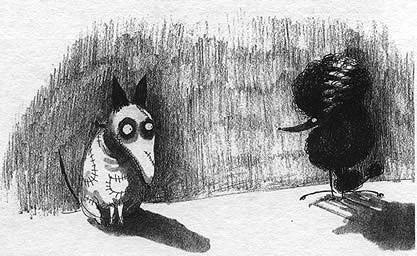 Тим Бартон в роли художника. Изображение № 31.