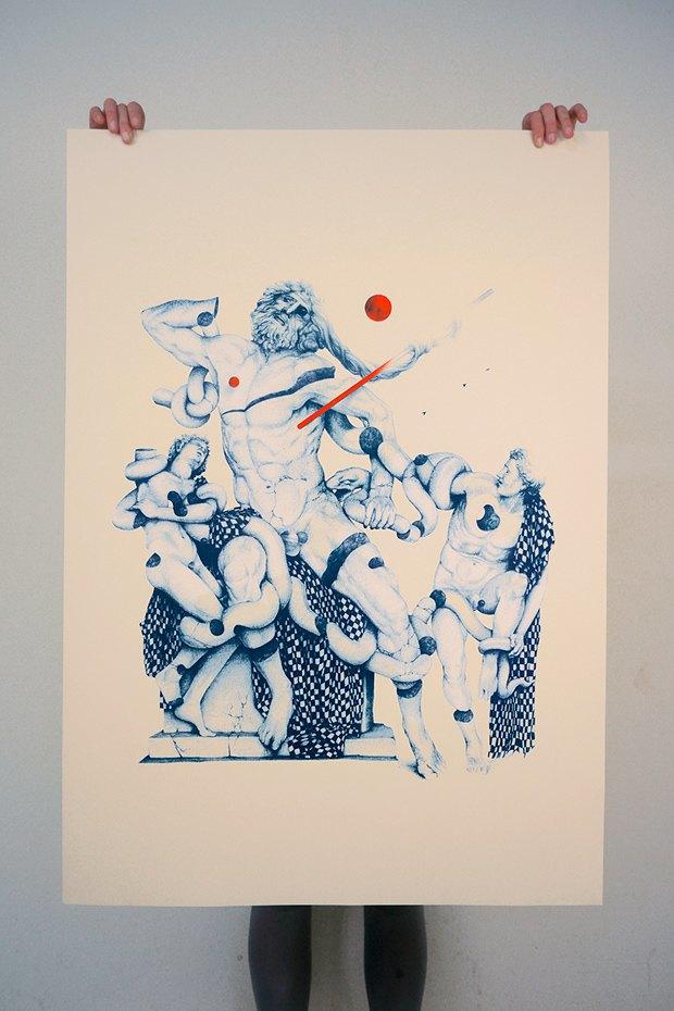 50 постеров, которые вдохновляют заняться шелкографией. Изображение № 50.