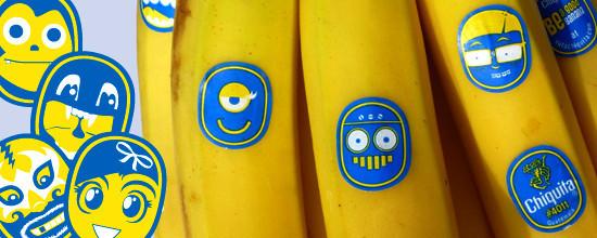 Chiquita: каждому банану - свое лицо. Изображение № 2.