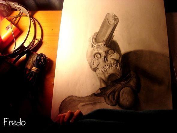 """Изображение 10. Реалистичные 3D рисунки """"в карандаше"""".. Изображение № 10."""