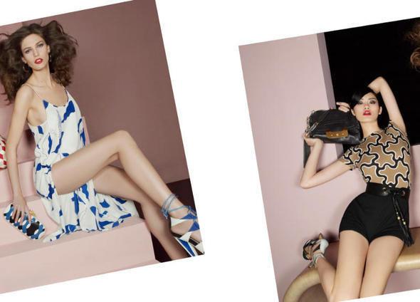 Изображение 27. Рекламные кампании: Diane von Furstenberg, Karl Lagerfeld, McQ и другие.. Изображение № 14.