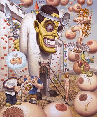 Эйсид-поп сюрреализм Тодда Шорра. Изображение № 11.