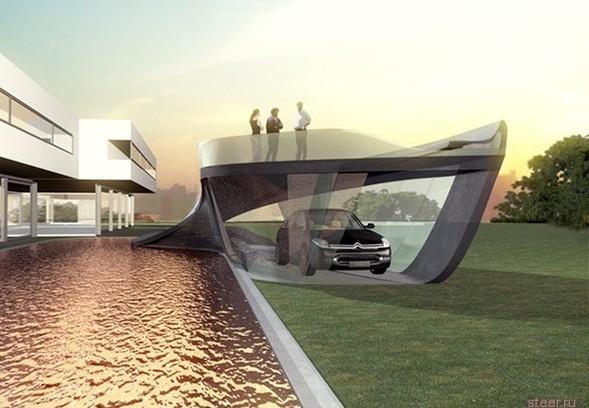 Дизайнерский гараж дляCitroen C6. Изображение № 4.