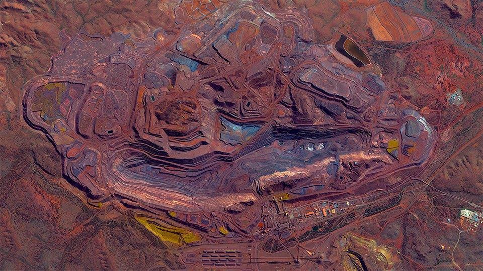 Снимки из космоса, напоминающие о хрупкости природы. Изображение № 6.