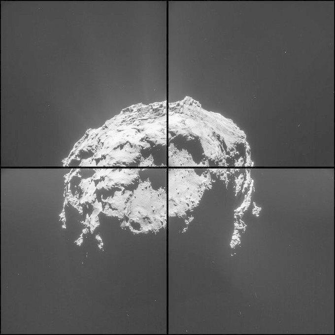 ЕКА опубликовало новые фото кометы 67Р. Изображение № 1.