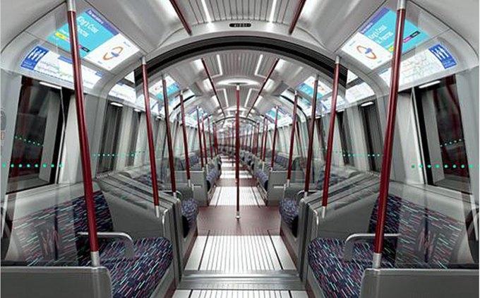 Фото: футуристические поезда метро в Лондоне. Изображение № 6.