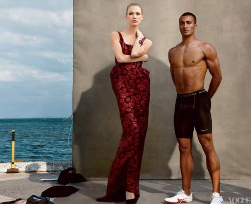 Быстрее, выше, сильнее: Модные съемки, вдохновленные спортом. Изображение №91.