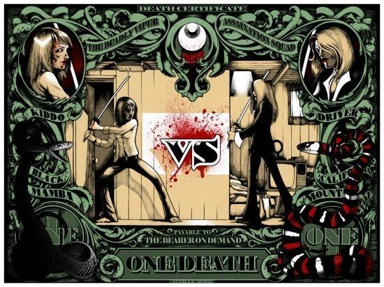 Изображение 1. Постеры: Квентин Тарантино против братьев Коэнов.. Изображение № 1.