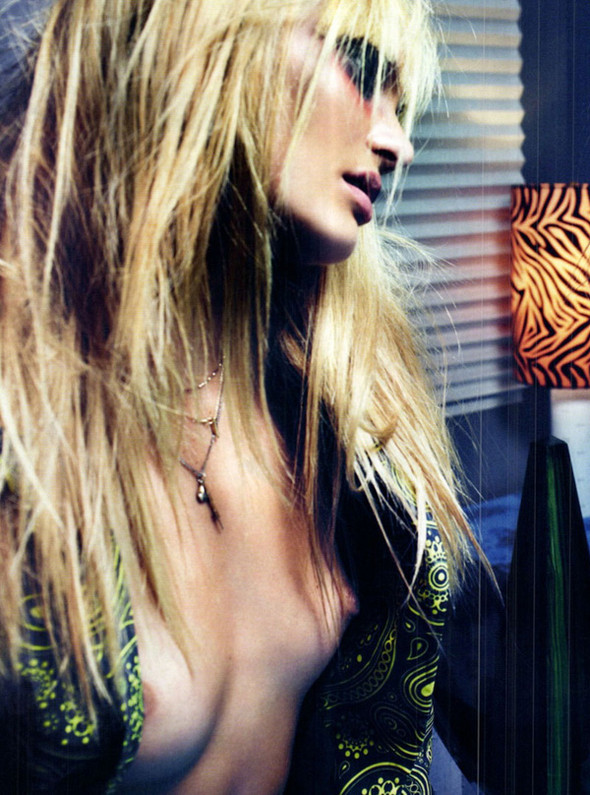 Candice Swanepoel для Vogue Italy, Март 2012. Изображение № 4.