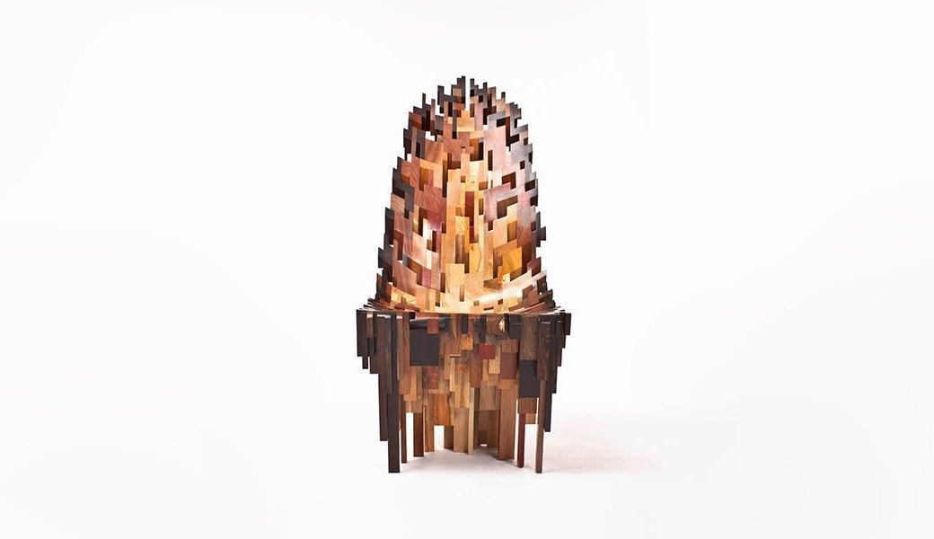 Глитч-мебель: красивые компьютерные ошибки в интерьере. Изображение № 33.