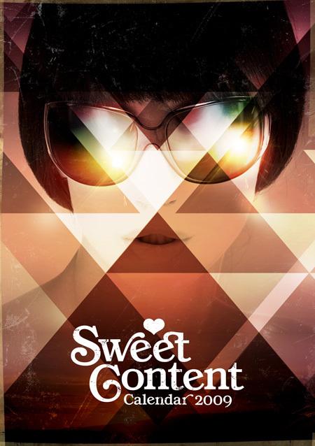 Sweet Content Calendar 2009. Изображение № 1.