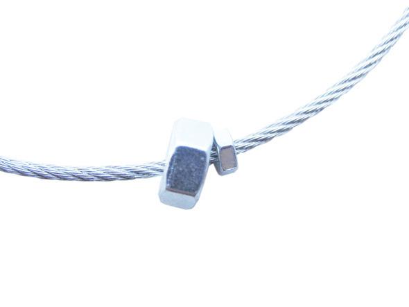Ожерелья из цепей гаек и сантехнического шнура. Часть1. Изображение № 7.