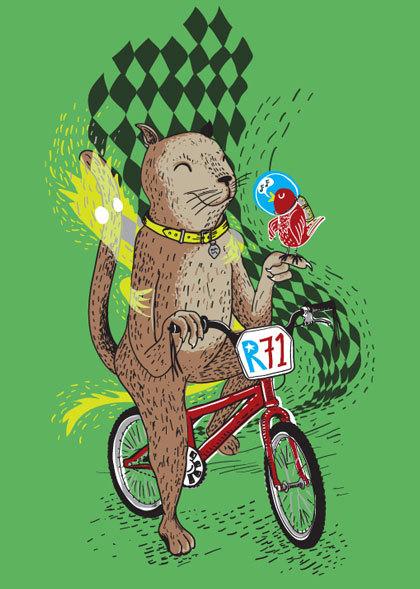 Крис Торнли люди, животные имотоциклы. Изображение № 17.