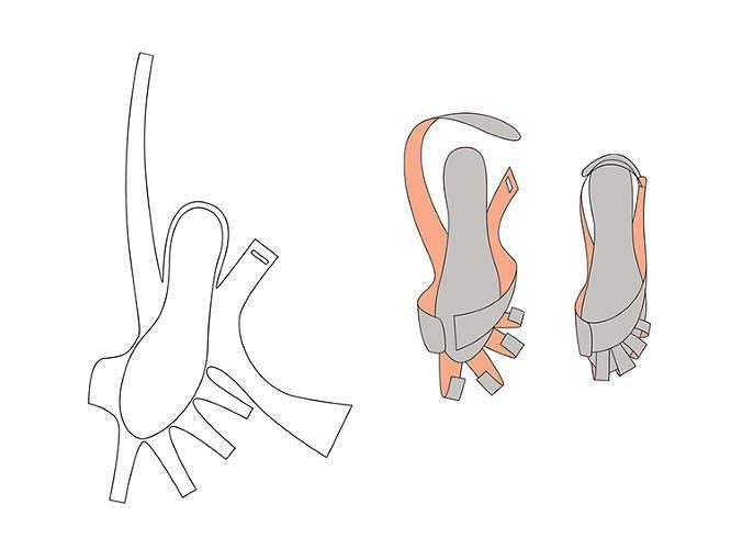 Китайский дизайнер представил складную обувь-оригами. Изображение № 3.