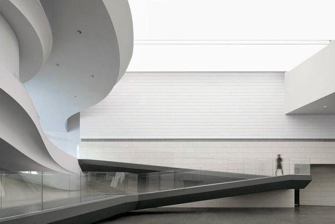 Архитектура дня: музей в Китае сбелым «слоёным» фасадом. Изображение № 10.