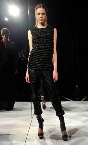 Lublu Kira Plastinina FW 2011 на показе на Нью-Йоркской неделе моды. Изображение № 17.