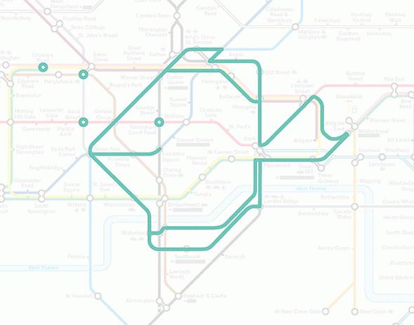 Осторожно! Звери в лондонском метро!. Изображение № 5.