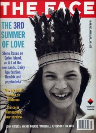 Кейт Мосс на обложке The Face, 1990 год. Изображение № 43.