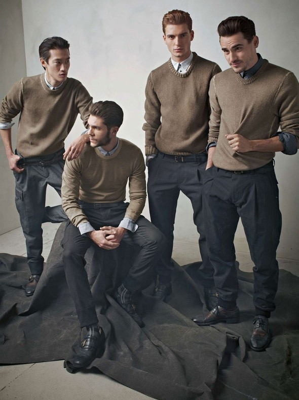Лукбук: Dolce & Gabbana FW 2011 Men's. Изображение № 45.
