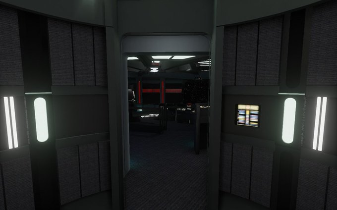 Капитанский мостик корабля из «Звёздного пути» создали для Oculus Rift . Изображение № 3.