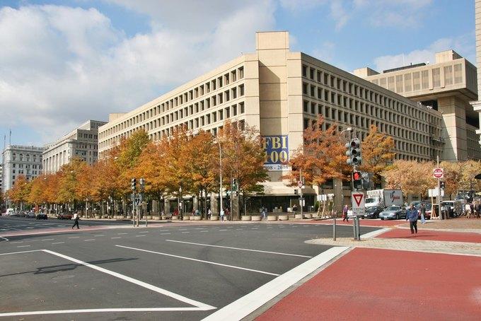 Штаб-квартира ФБР  в Вашингтоне. Изображение № 1.