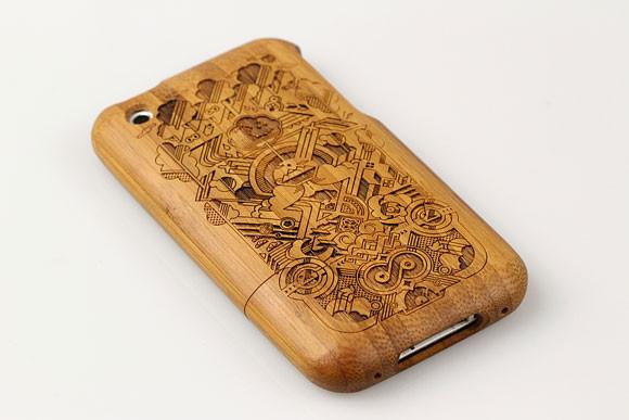 Деревянные корпуса для iPhone. Изображение № 6.