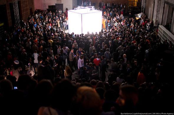 Концерт Apparatjik  на Стрелке Фото : zyalt. Изображение № 9.