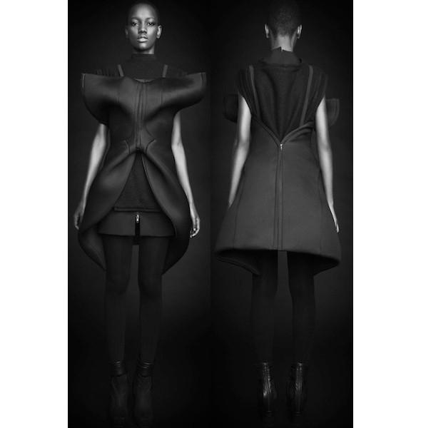 Изображение 30. Лукбуки: Bergdorf Goodman, Jaeger Black и Rad Hourani.. Изображение № 30.