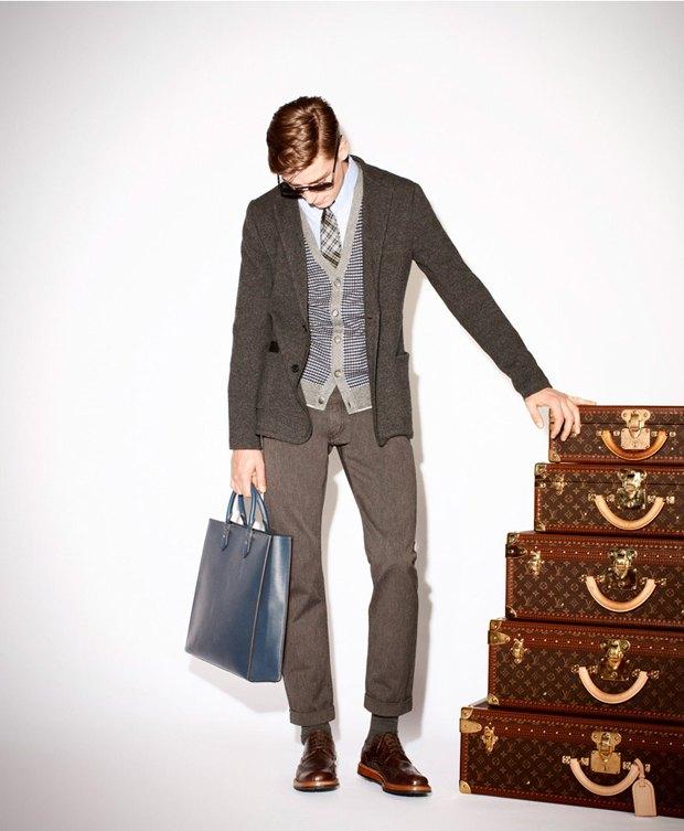 Показаны новые лукбуки Gucci, Louis Vuitton и Prada. Изображение № 10.